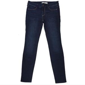 Hollister skinny jeans jeggings dark wash